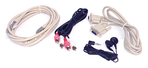 Cable set AUDIO