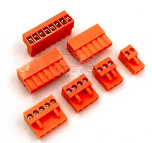 4 Pin Orange Terminal Block Connector (Weidmuller)